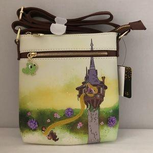 Disney Tangled Tower Crossbody Bag